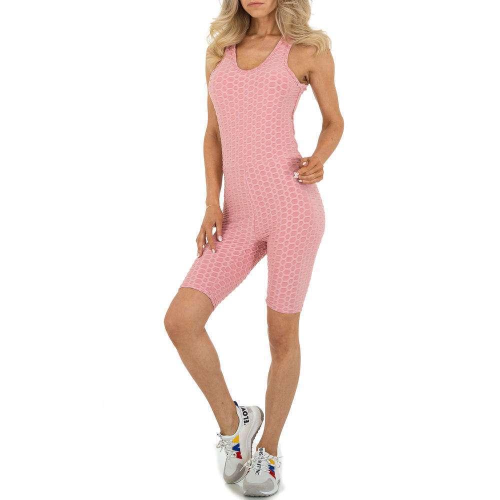 Salopetă scurtă pentru femei marca Holala - roz