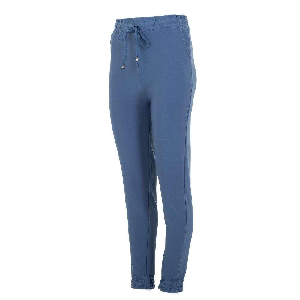 Pantaloni sport pentru femei marca Chic & mode - albastră