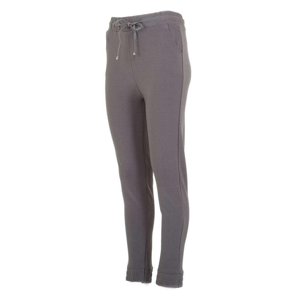 Pantaloni sport pentru femei marca Chic & mode - gri