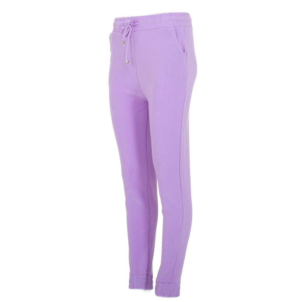 Pantaloni sport pentru femei marca Chic & mode - lila