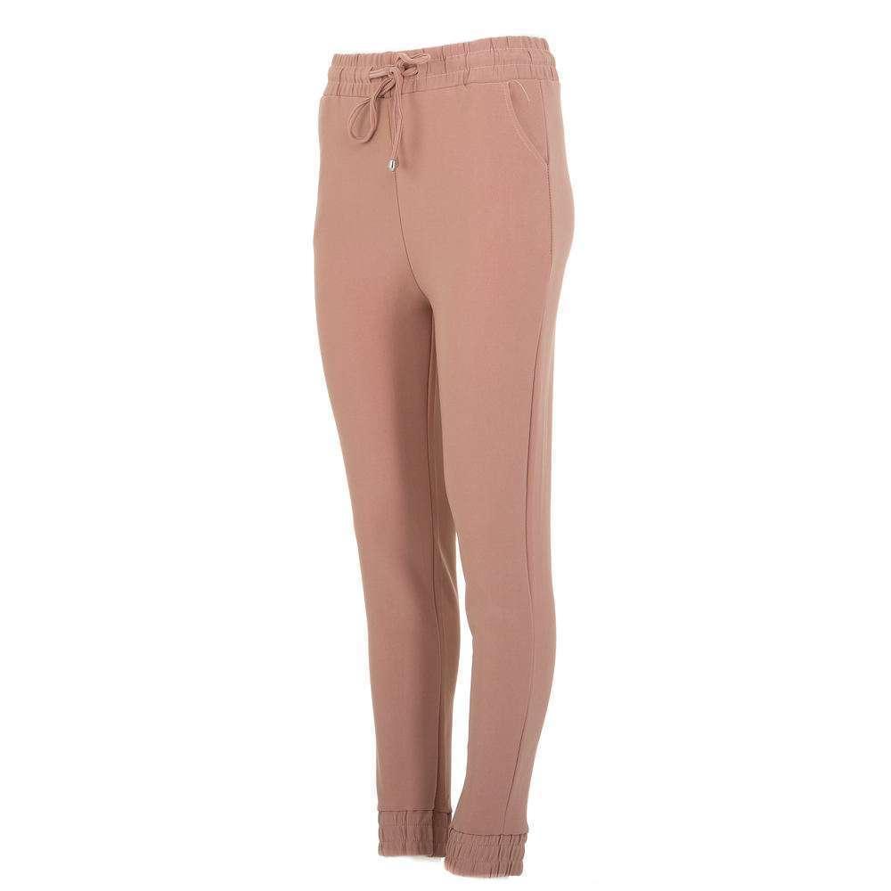 Pantaloni sport pentru femei marca Chic & mode - deschis  roz