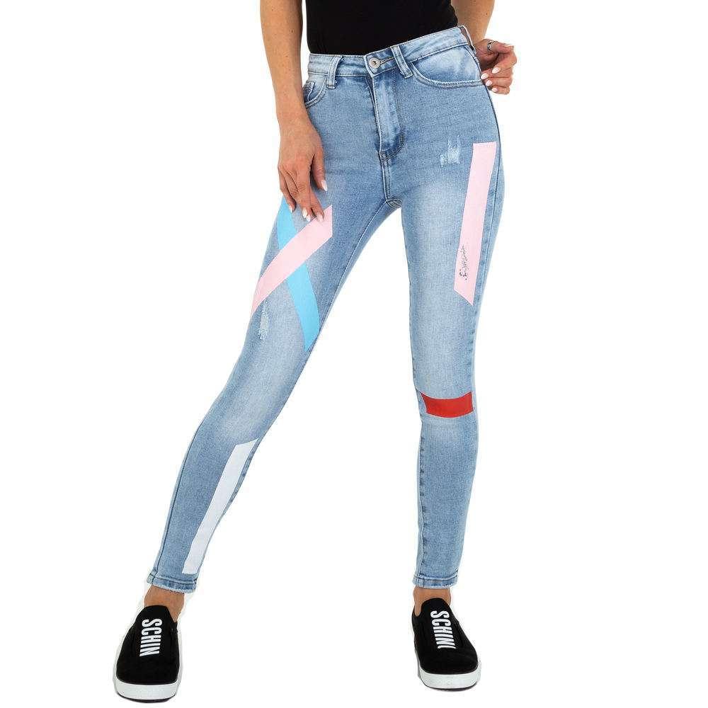 Blugi Skinny pentru femei marca Daysie Jeans - albastră