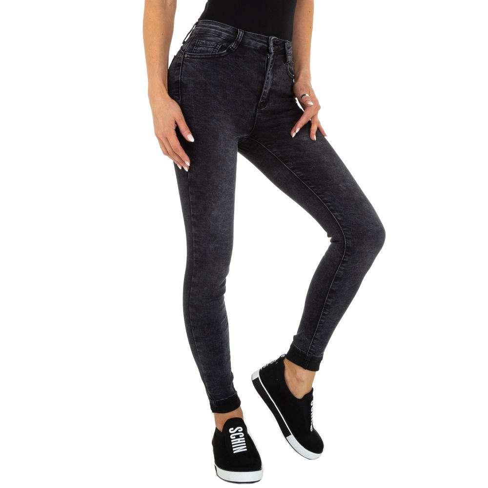 Blugi Skinny pentru femei marca Daysie Jeans - neagră