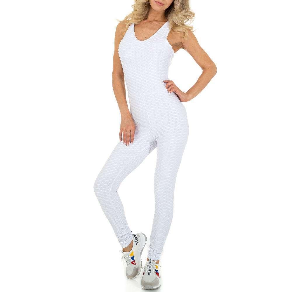 Salopetă lungă pentru femei marca Holala - albă