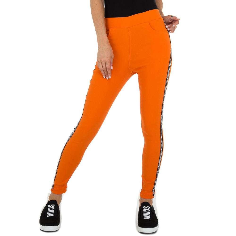 Pantaloni Casual pentru femei marca Holala - orange
