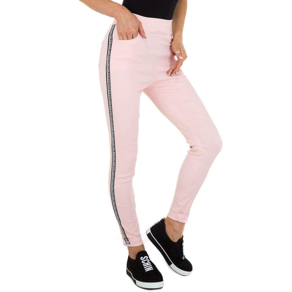 Pantaloni Casual pentru femei marca Holala - roz