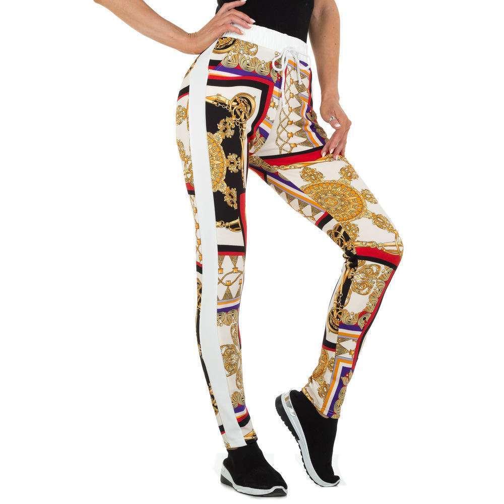 Pantaloni din stofă pentru femei marca Holala - multi
