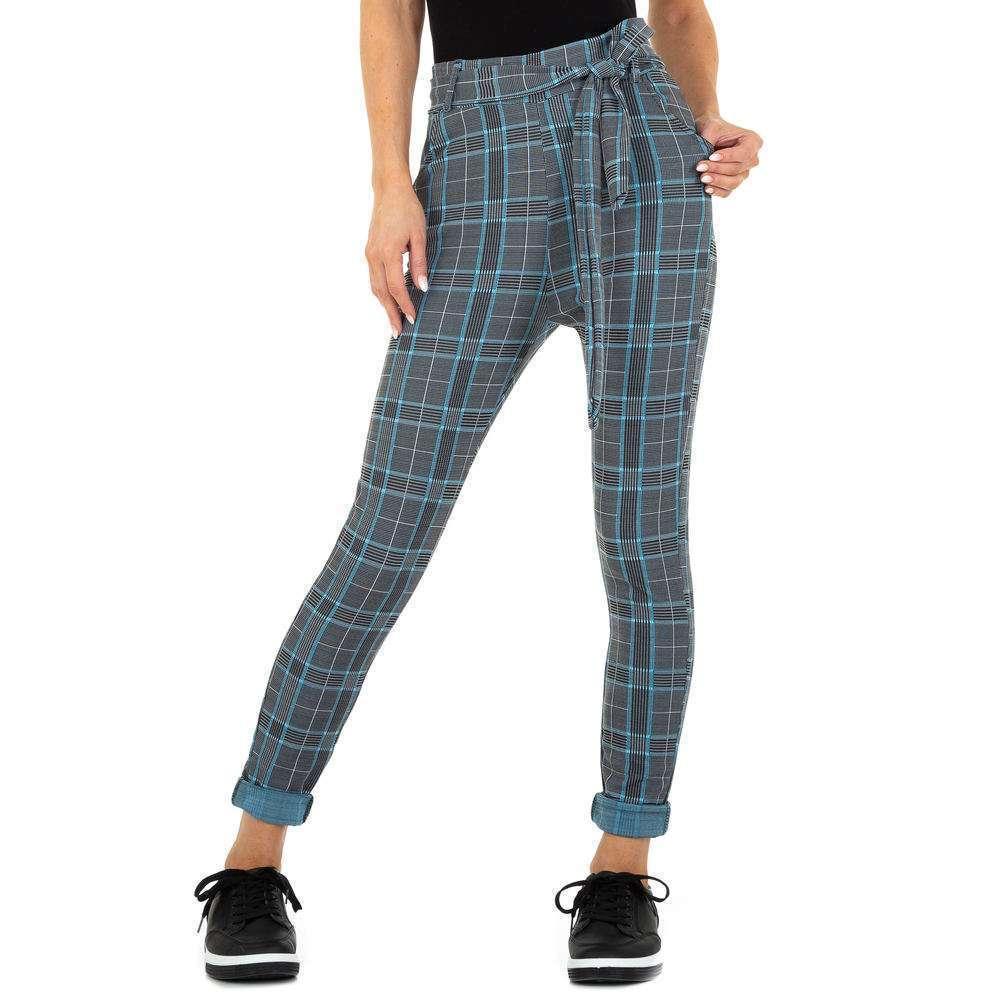 Pantaloni Casual pentru femei marca Holala - albastră