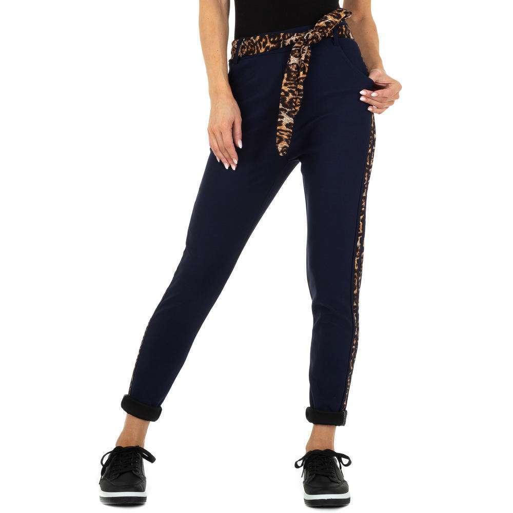 Pantaloni Casual pentru femei marca Holala - albastru închis