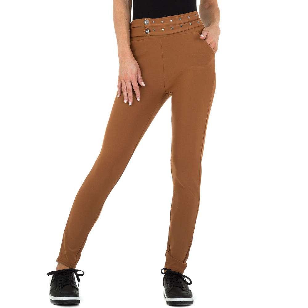 Pantaloni Casual pentru femei marca Holala - cafenii