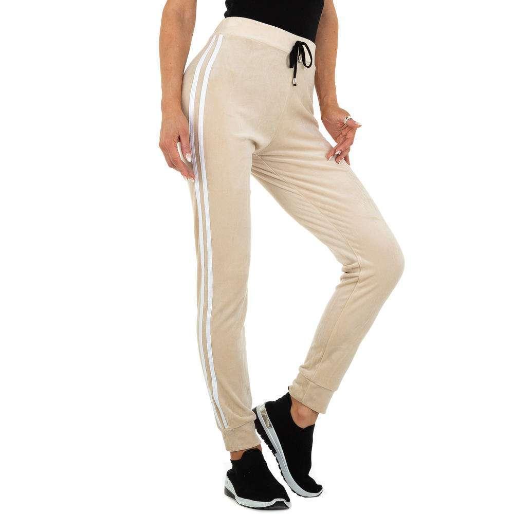 Pantaloni sport pentru femei marca Holala - bej