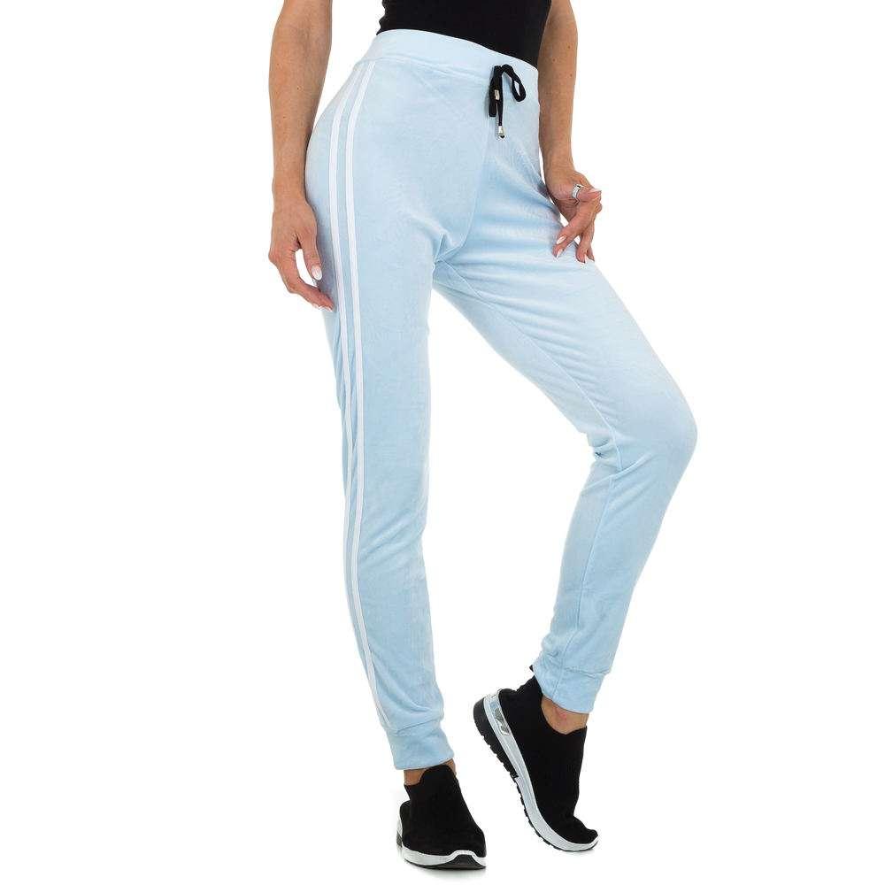 Pantaloni sport pentru femei marca Holala - albastră