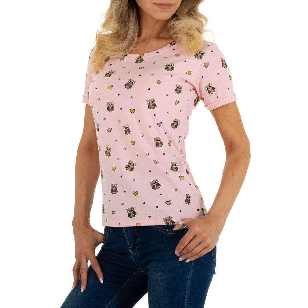 Tricou pentru femei marca Glo storye - roz