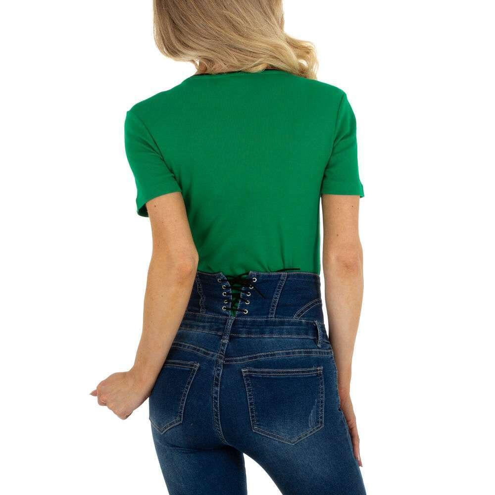 Tricou pentru femei marca Glo storye - verde - image 3