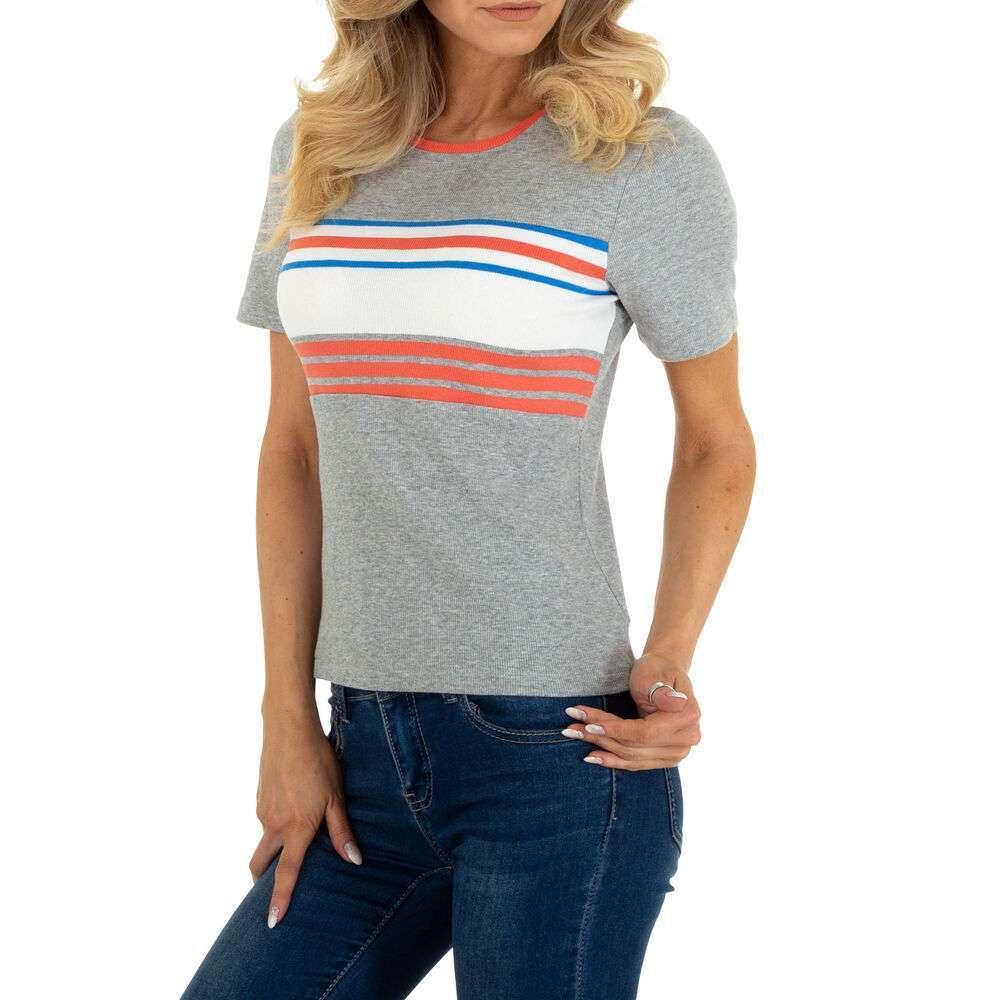 Tricou pentru femei marca Glo storye - gri