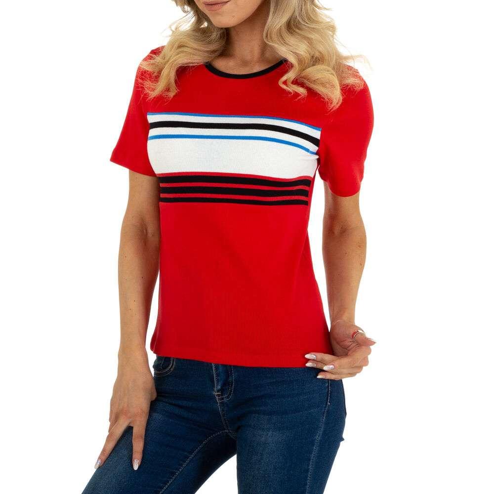 Tricou pentru femei marca Glo storye - roșii