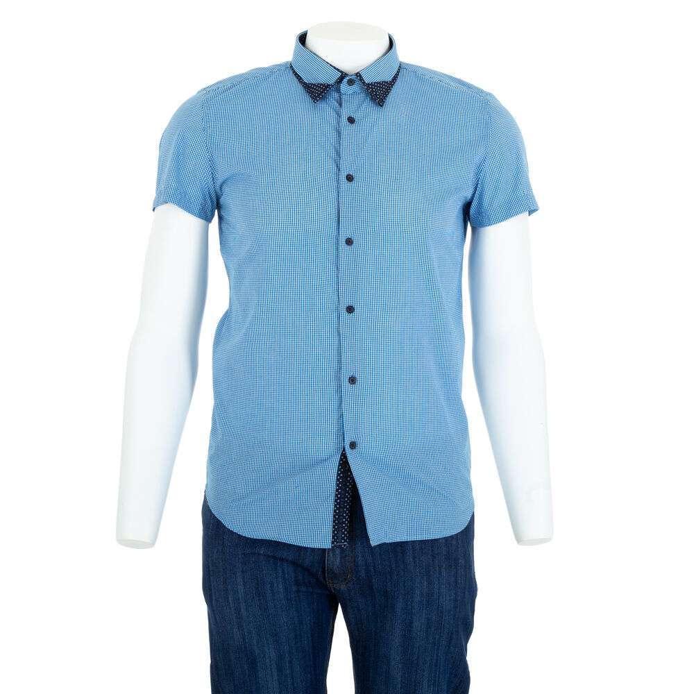 Herren Hemd von Glo Story - albastru