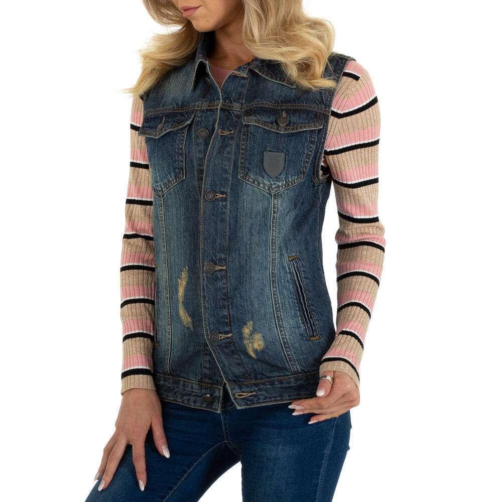 Damen Weste marca ABC Denim - albastră - image 1