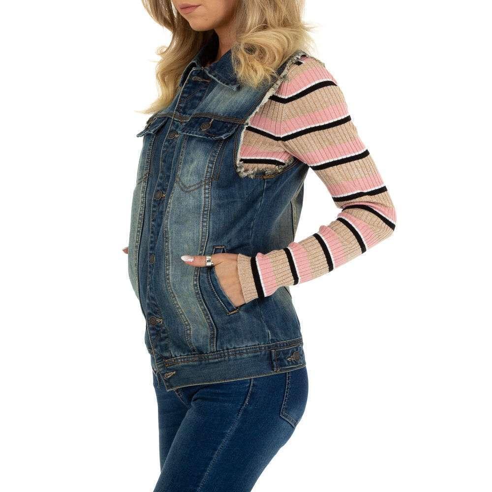 Damen Weste marca ABC Denim - albastră - image 2