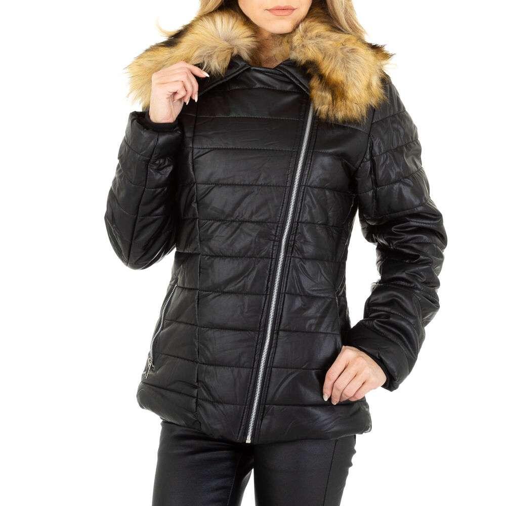 Geacă de iarnă pentru femei marca EGRET - neagră