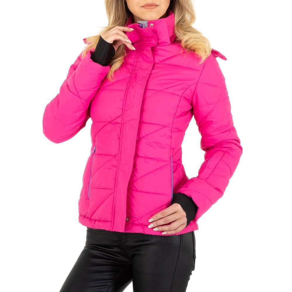 Geacă de iarnă pentru femei marca EGRET - fuchsia