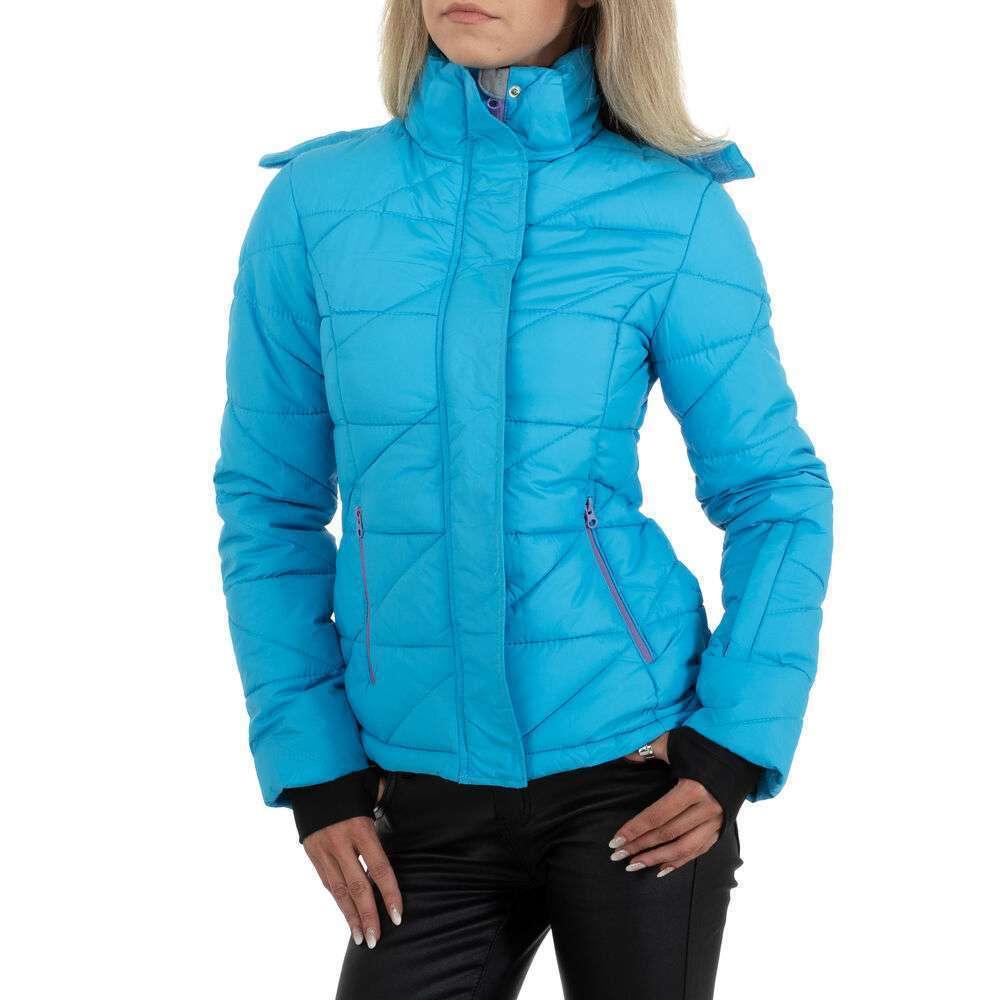 Geacă de iarnă pentru femei marca Egret - albastră
