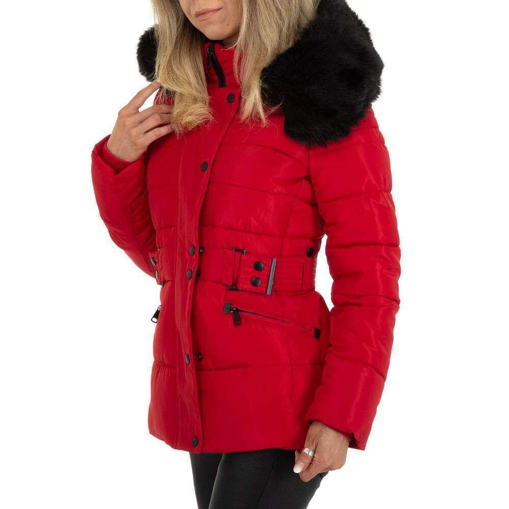 Geacă de iarnă pentru femei marca Egret - roșii