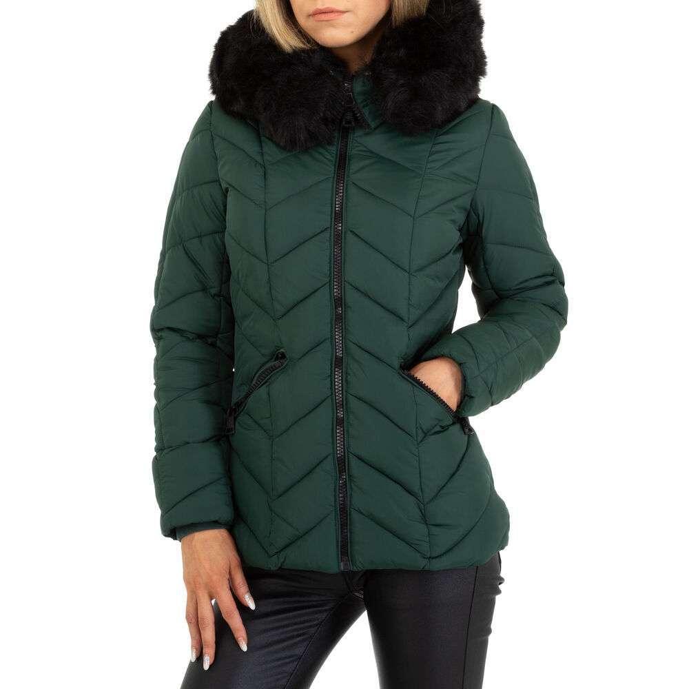 Geacă de iarnă pentru femei marca Egret - verde