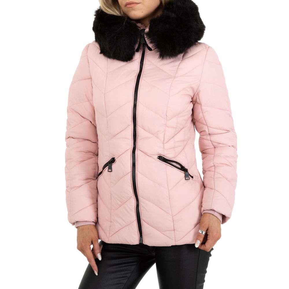 Geacă de iarnă pentru femei marca Egret - roz