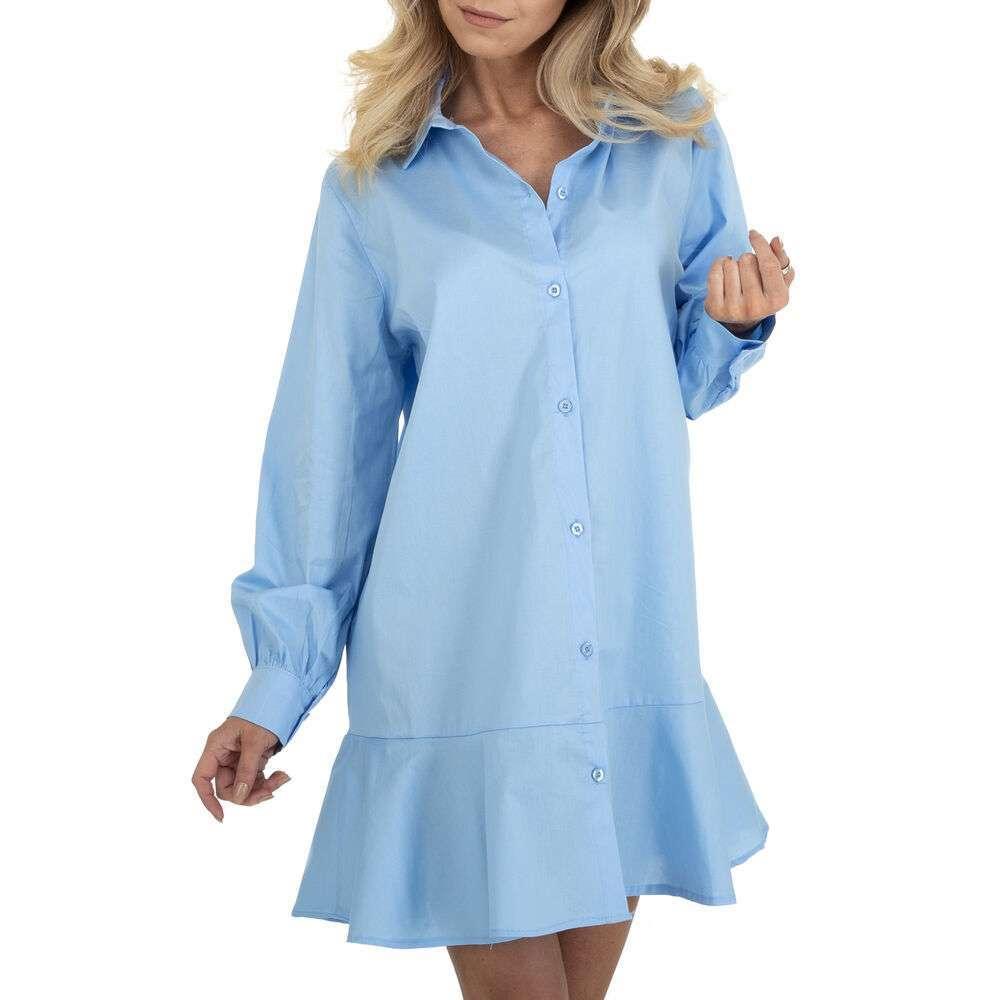 Rochie bluză pentru femei marca BY Julie Gr. O mărime - albastră