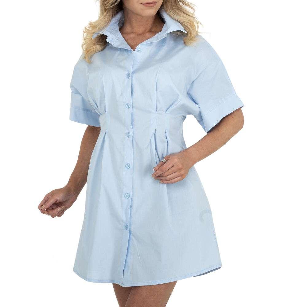 Rochie bluză pentru femei marca BY Julie - albastră