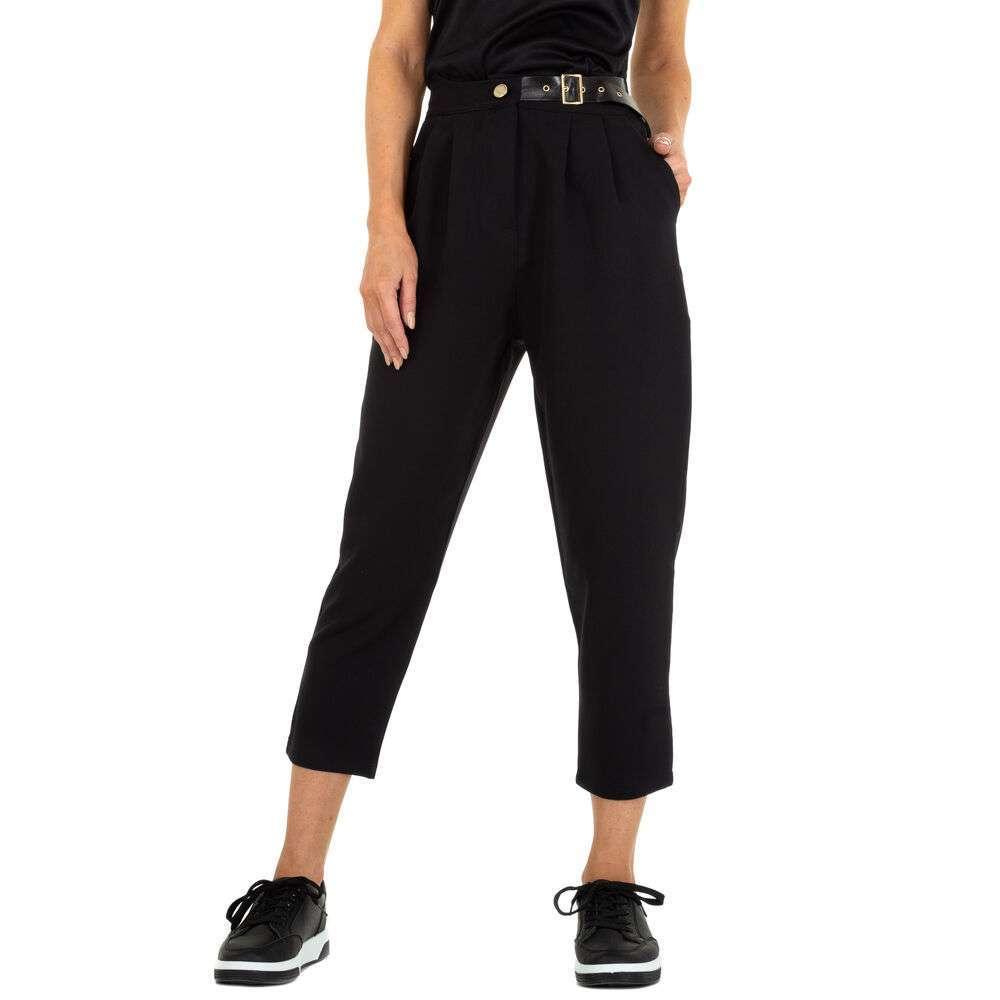 Pantaloni Casual pentru femei marca BY Julie - neagră