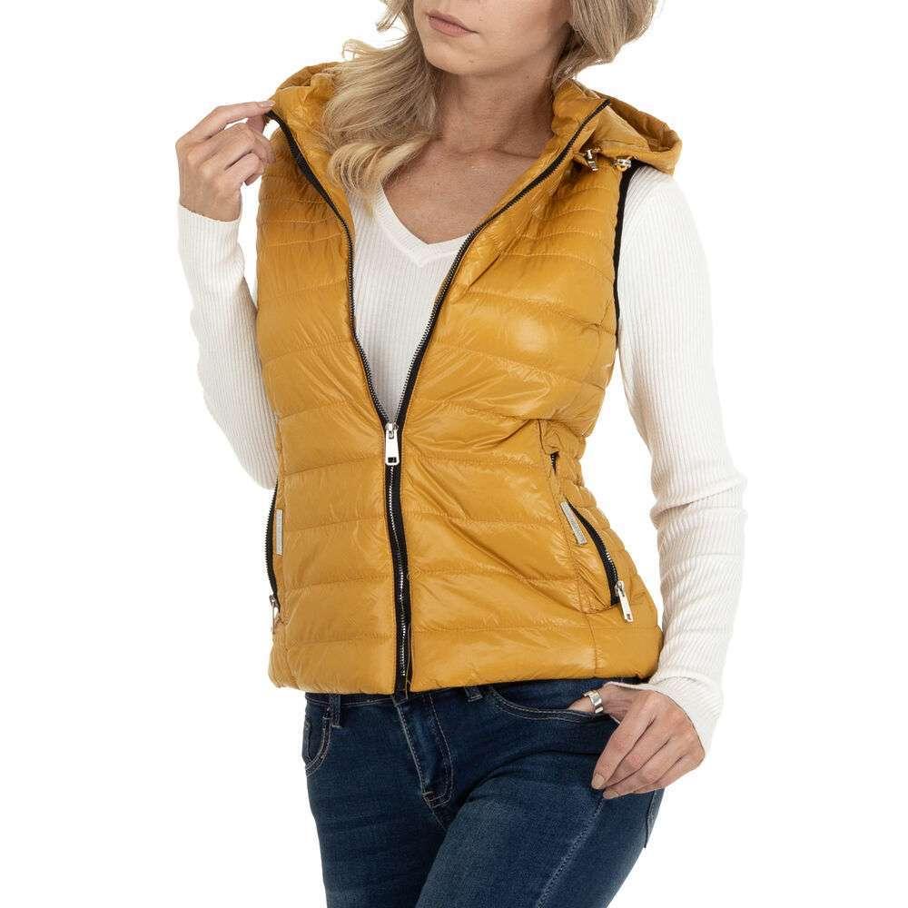 Damen Weste marca Ature - galben - image 4