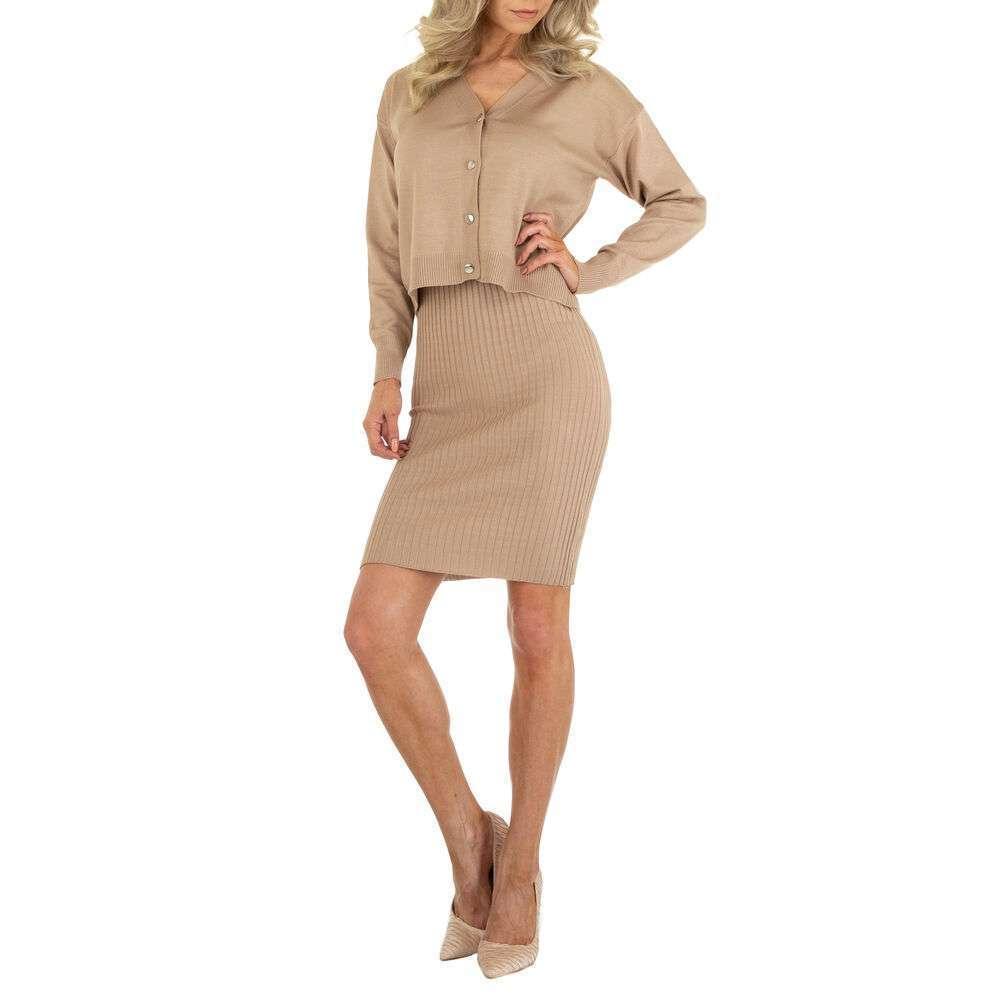 Rochie bluză pentru femei marca EMMA & ASHLY - bej