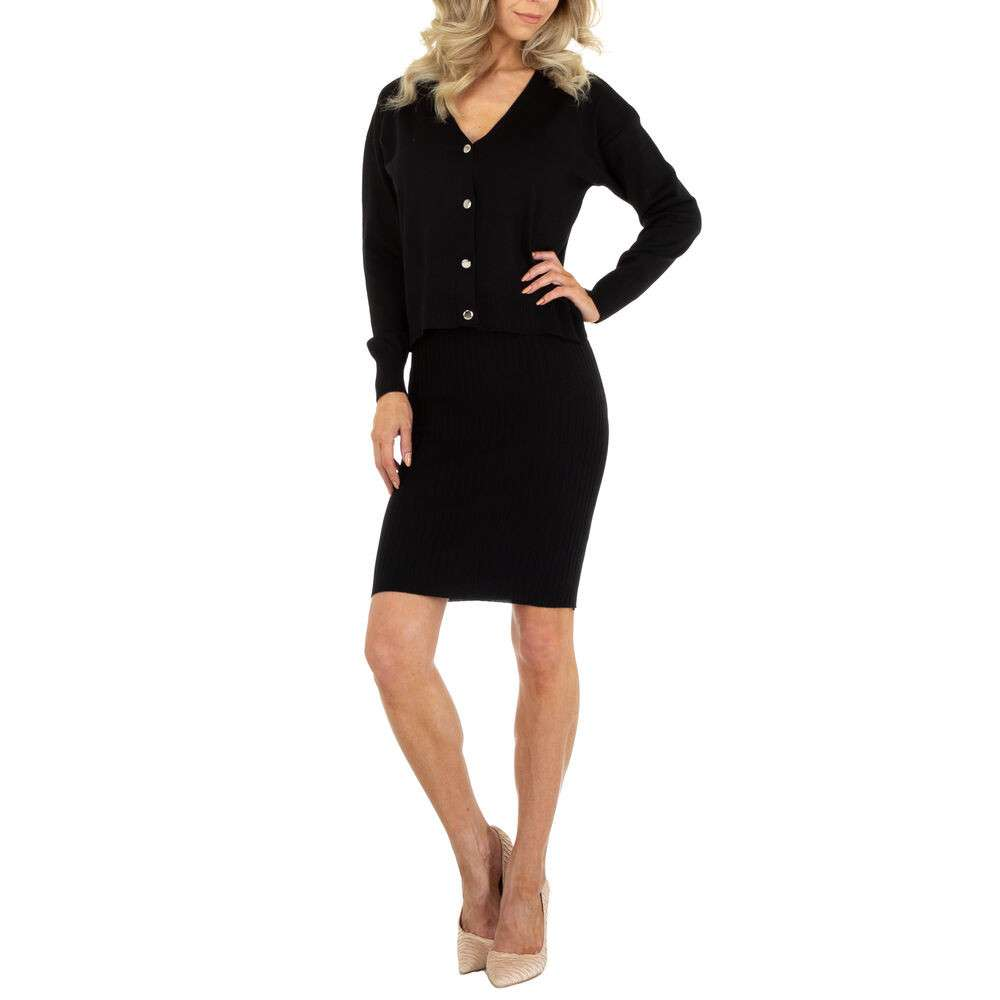 Rochie bluză pentru femei marca EMMA & ASHLY - neagră