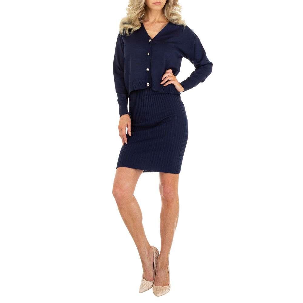 Rochie bluză pentru femei marca EMMA & ASHLY - albastru închis