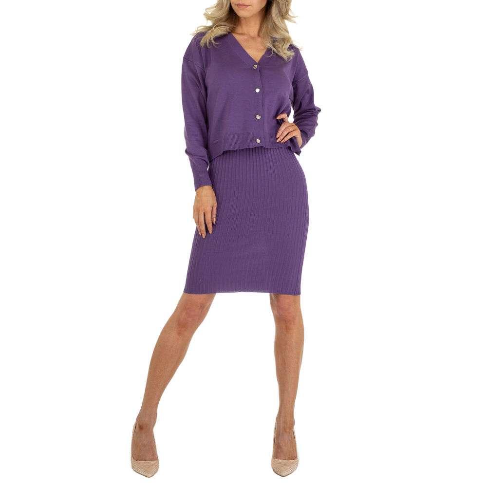 Rochie bluză pentru femei marca EMMA & ASHLY - violet