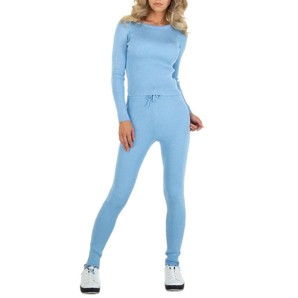 Costum de jogging și agrement pentru femei marca EMMA & ASHLY - albastră