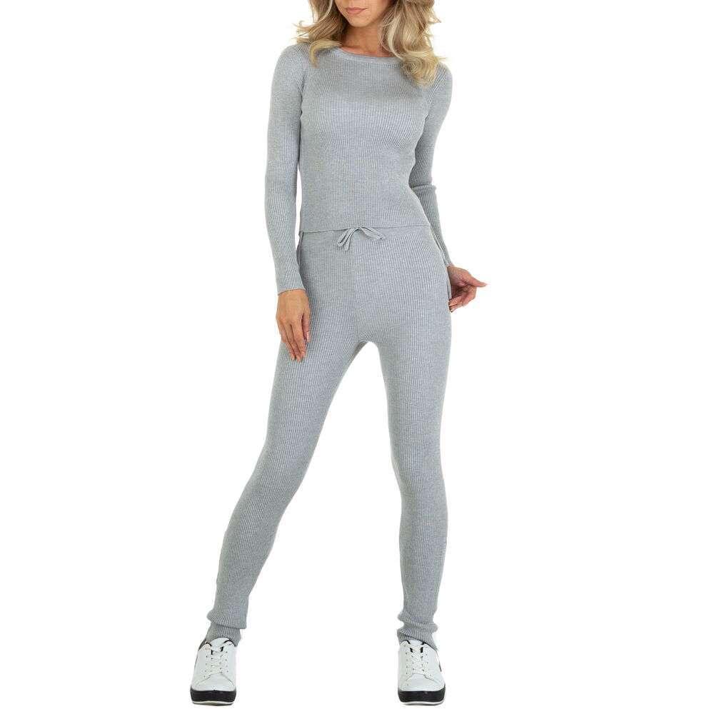 Costum de jogging și agrement pentru femei marca EMMA & ASHLY - gri