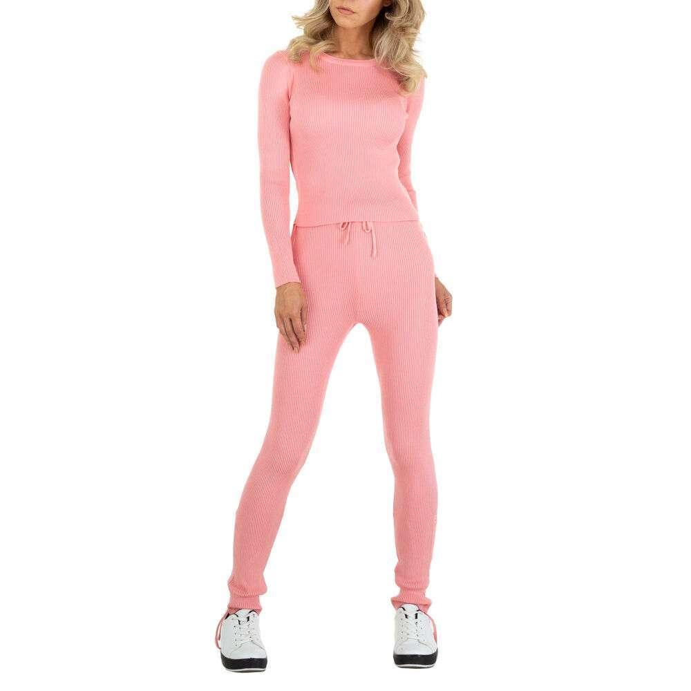Costum de jogging și agrement pentru femei marca EMMA & ASHLY - roz