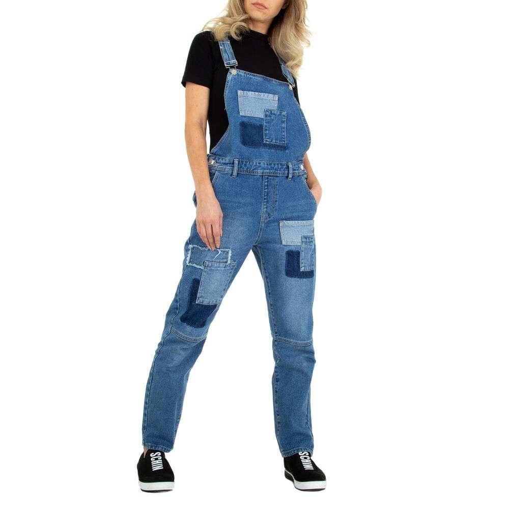 Blugi Salopetă pentru femei marca Colorful Premium - albastră