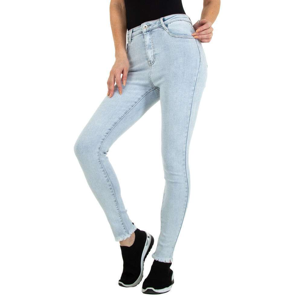 Blugi Skinny pentru femei marca Daysie - deschis albastră