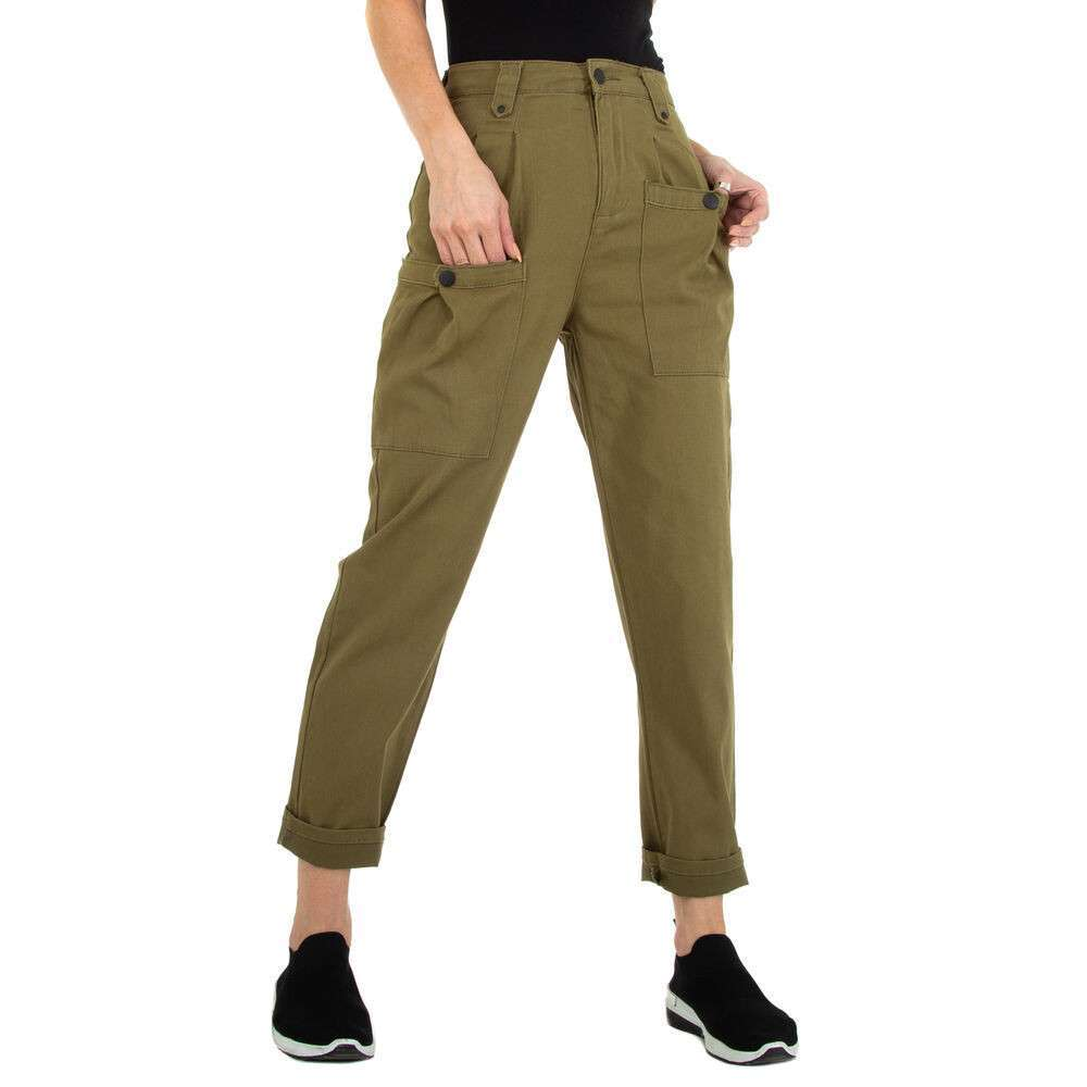 Pantaloni Casual pentru femei marca Daysie - verde