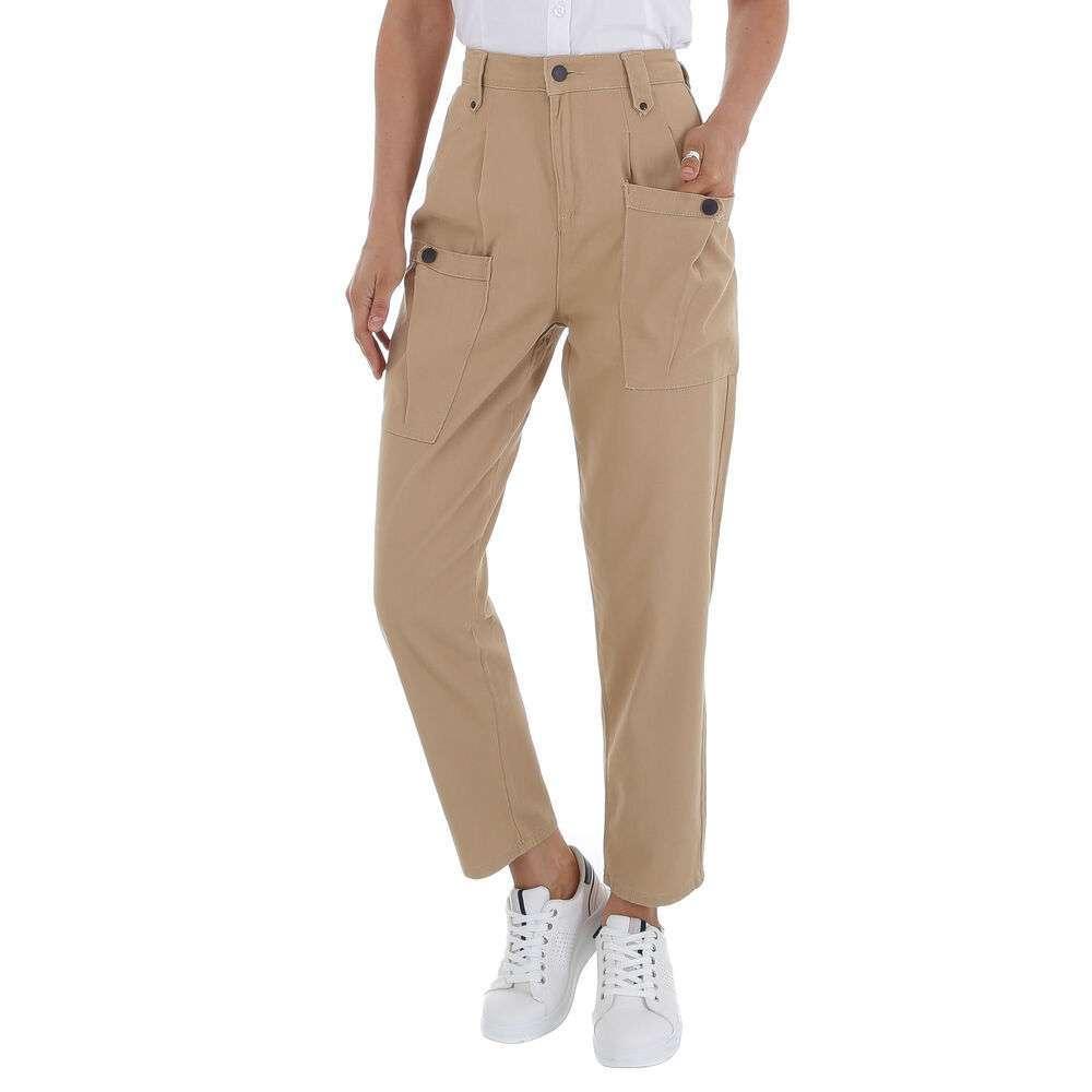 Pantaloni Casual pentru femei marca Daysie - khaki