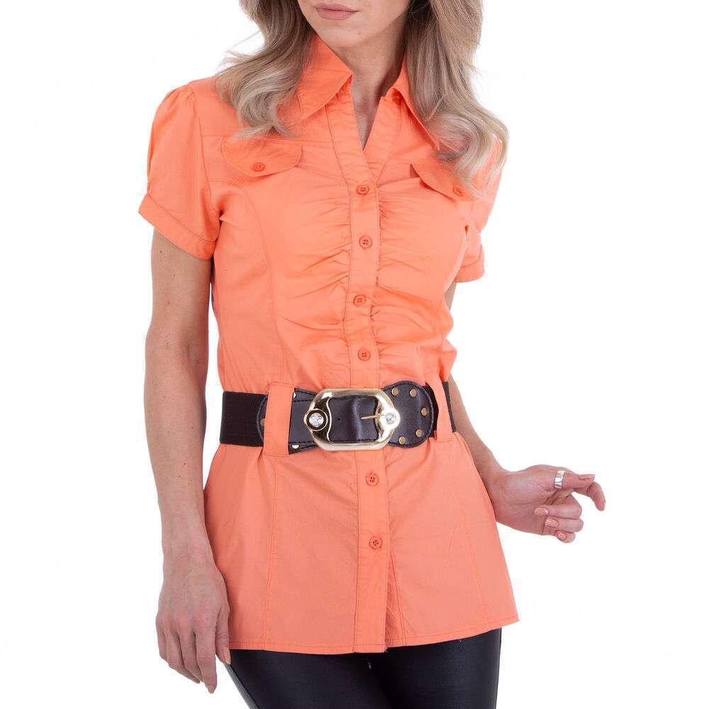 Bluză cămașă pentru femei marca Metrofive - coral