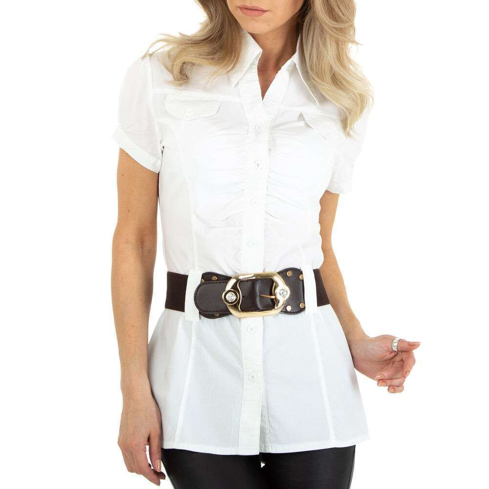Bluză cămașă pentru femei marca Metrofive - albă