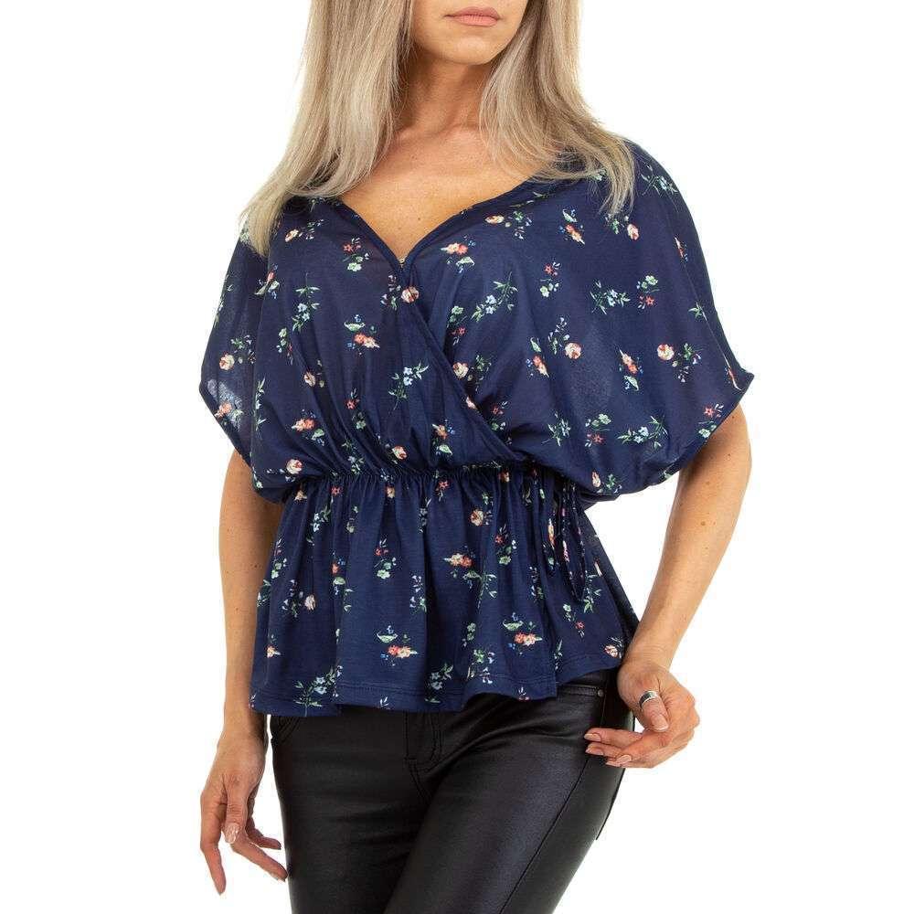 Bluză cămașă pentru femei marca Metrofive - albastru închis