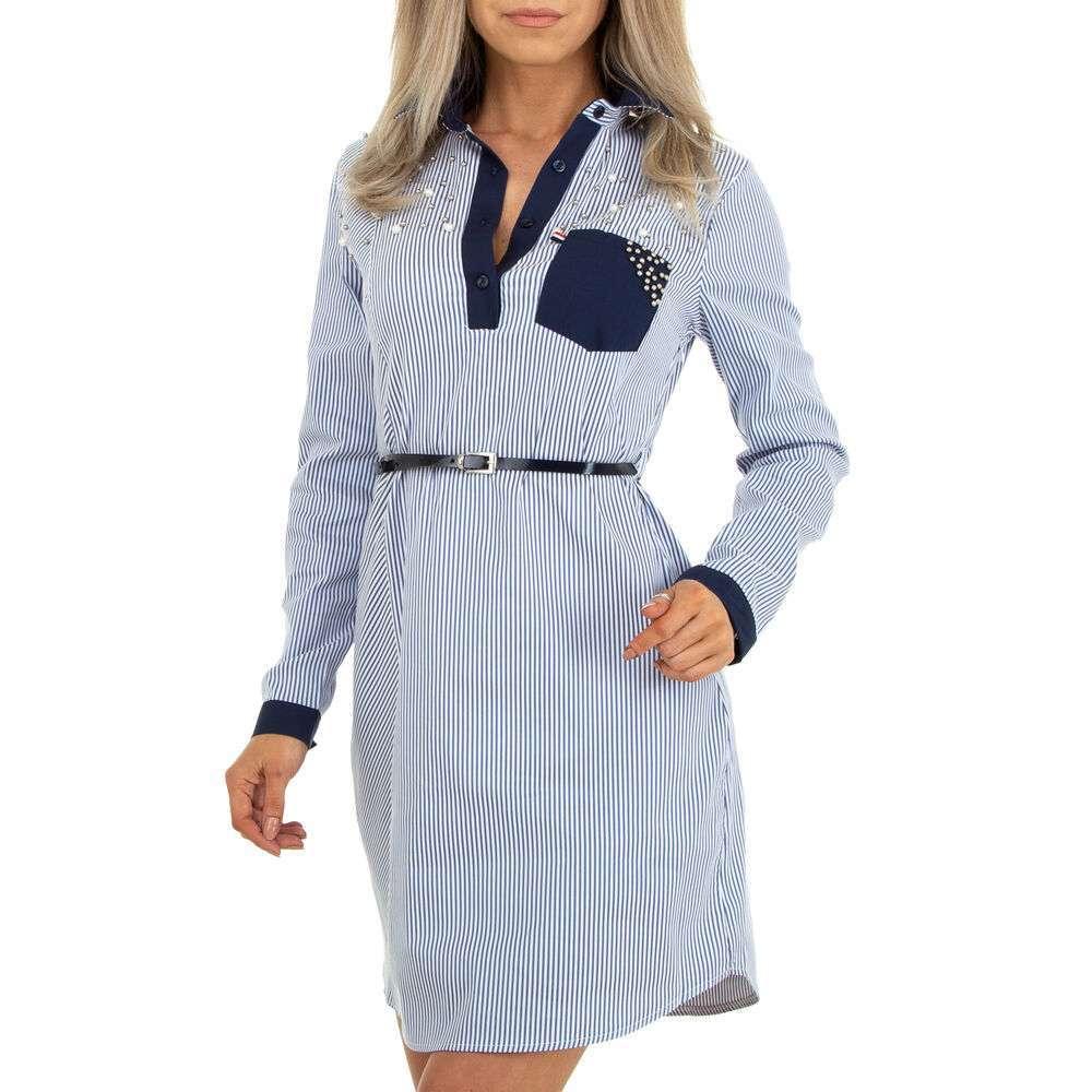 Rochie bluză pentru femei marca Metrofive - albastră