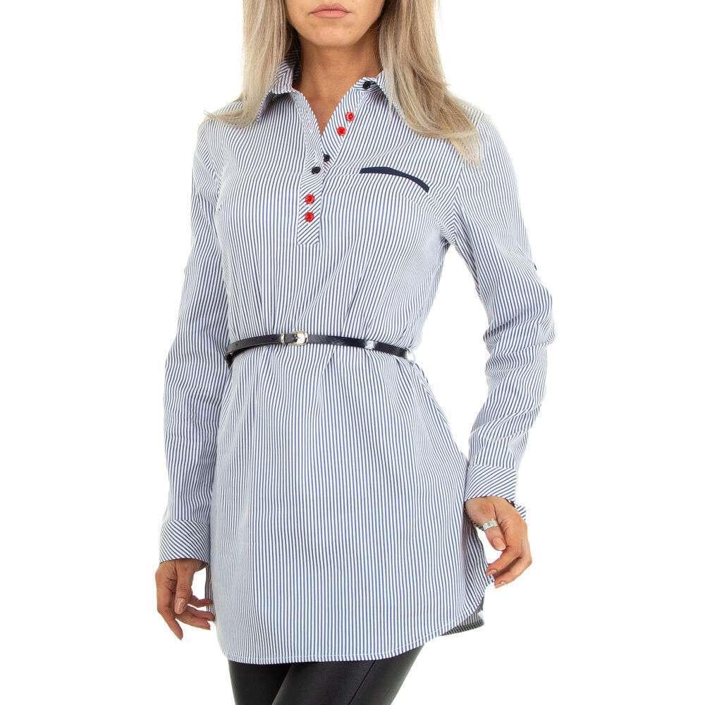 Bluză cămașă pentru femei marca Metrofive - deschis albastră
