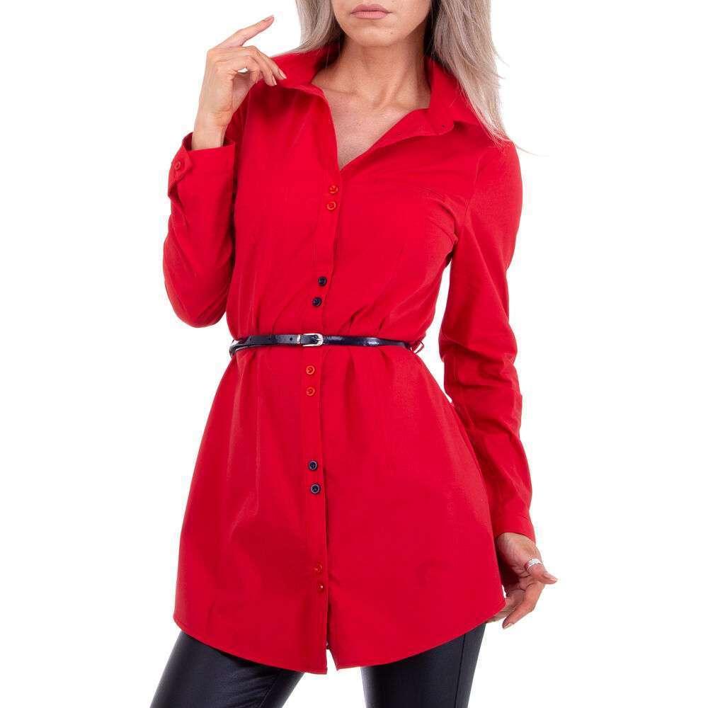Bluză cămașă pentru femei marca Metrofive - roșii